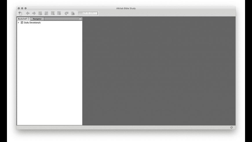 Alkitab for Mac - review, screenshots