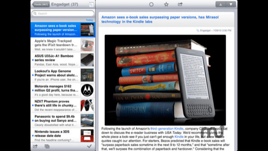 NewsRack for Mac - review, screenshots