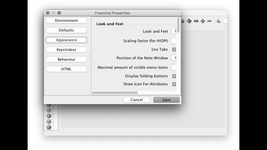 FreeMind for Mac - review, screenshots