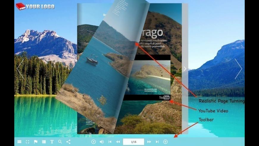 1stFlip Flipbook Creator Pro for Mac - review, screenshots