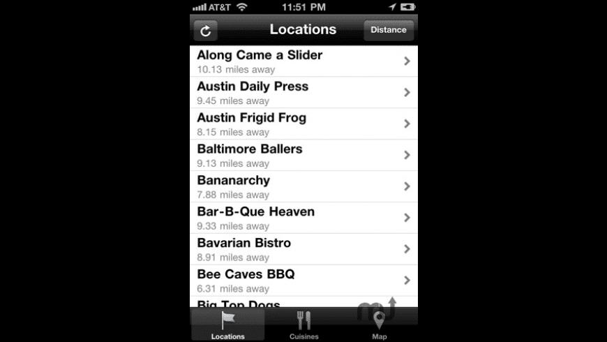 AustinFoodCarts for Mac - review, screenshots
