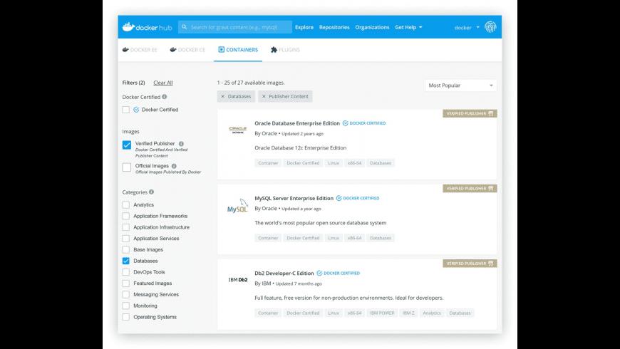 Docker for Mac - review, screenshots