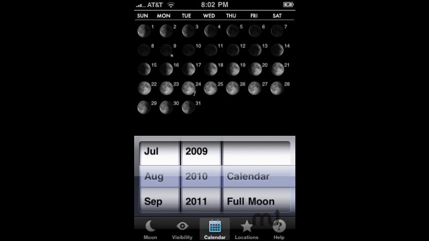 VisiMoon for Mac - review, screenshots