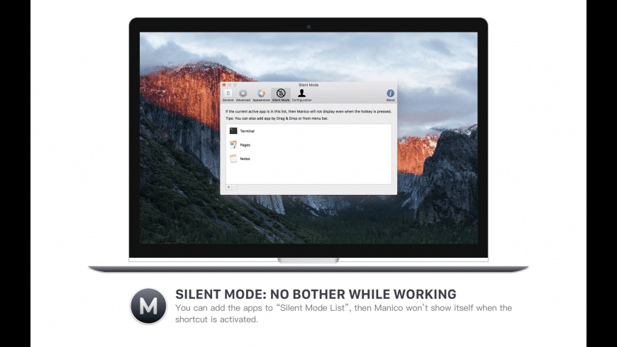 Manico for Mac - review, screenshots