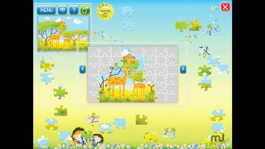Animals Puzzle for Mac - review, screenshots