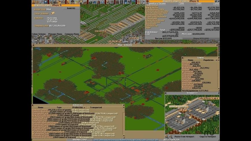 OpenTTD for Mac - review, screenshots