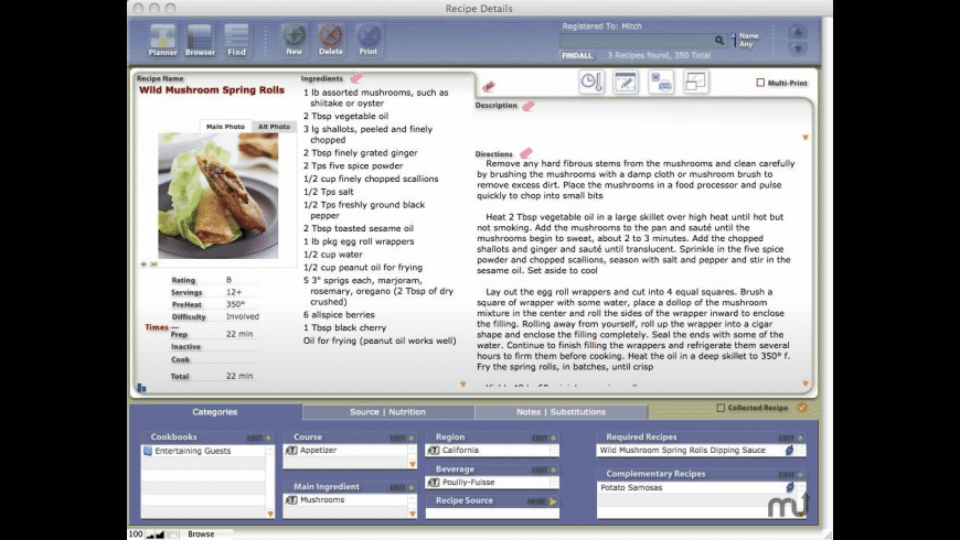 CookWare Deluxe for Mac - review, screenshots