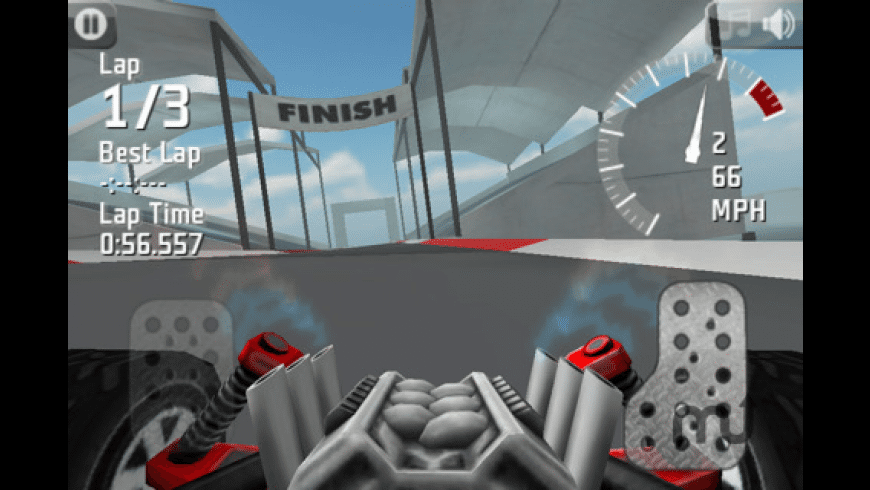 Fumes Stunt Racer for Mac - review, screenshots