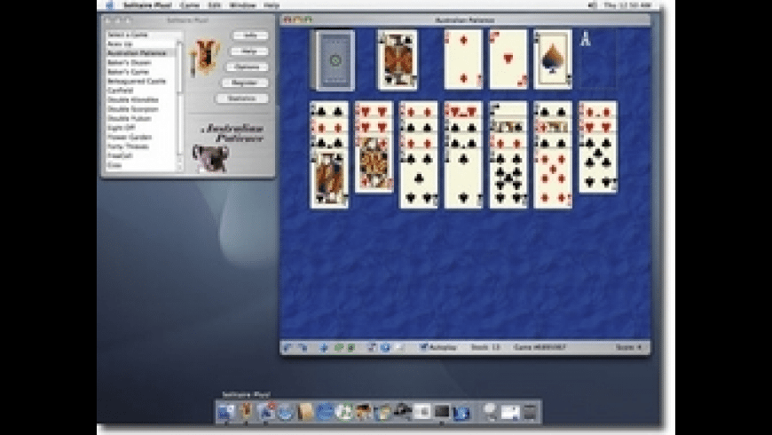 Solitaire Plus! for Mac - review, screenshots