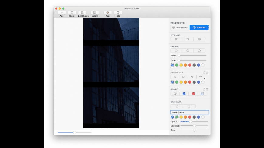 Photo Stitcher for Mac for Mac - review, screenshots