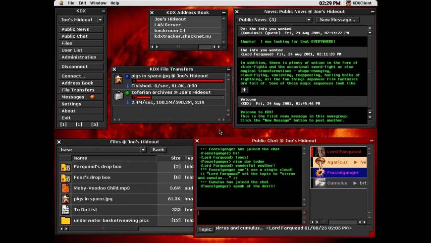 Haxial KDX Client for Mac - review, screenshots
