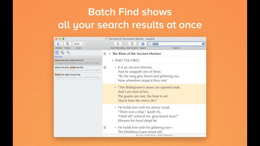 OmniOutliner Essentials for Mac - review, screenshots
