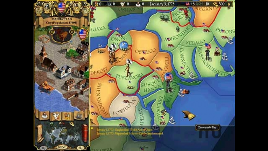 Europa Universalis II for Mac - review, screenshots
