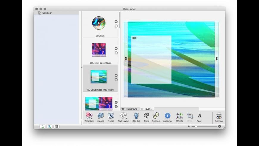 DiscLabel for Mac - review, screenshots