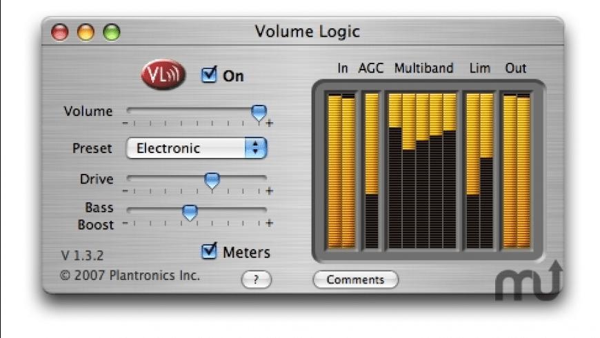 Volume Logic for Mac - review, screenshots