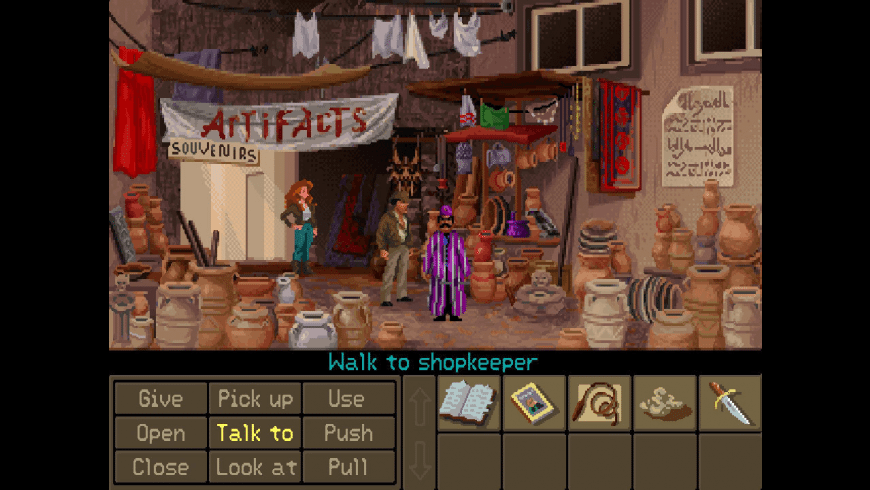 Indiana Jones and the Fate of Atlantis for Mac - review, screenshots