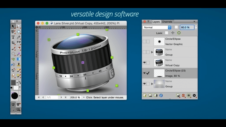 PhotoLine for Mac - review, screenshots