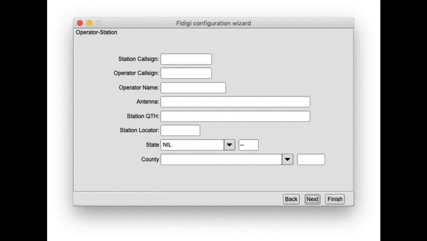 Fldigi for Mac - review, screenshots