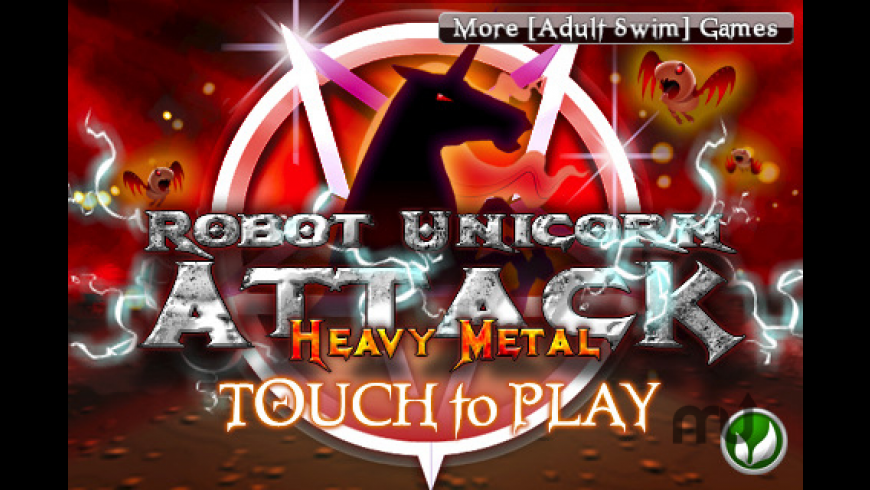 Robot Unicorn Attack Heavy Metal Edition for Mac - review, screenshots