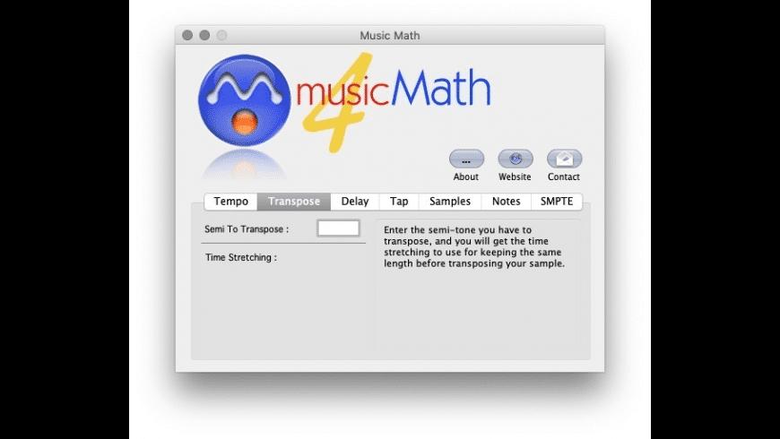 Music Math for Mac - review, screenshots