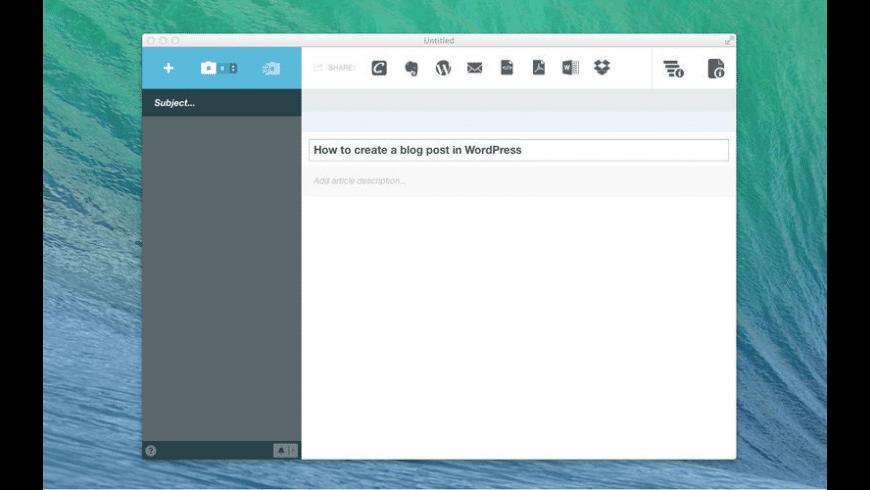 Clarify for Mac - review, screenshots