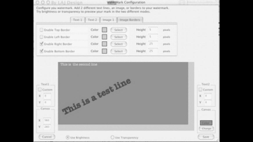 Dropwatermark for Mac - review, screenshots