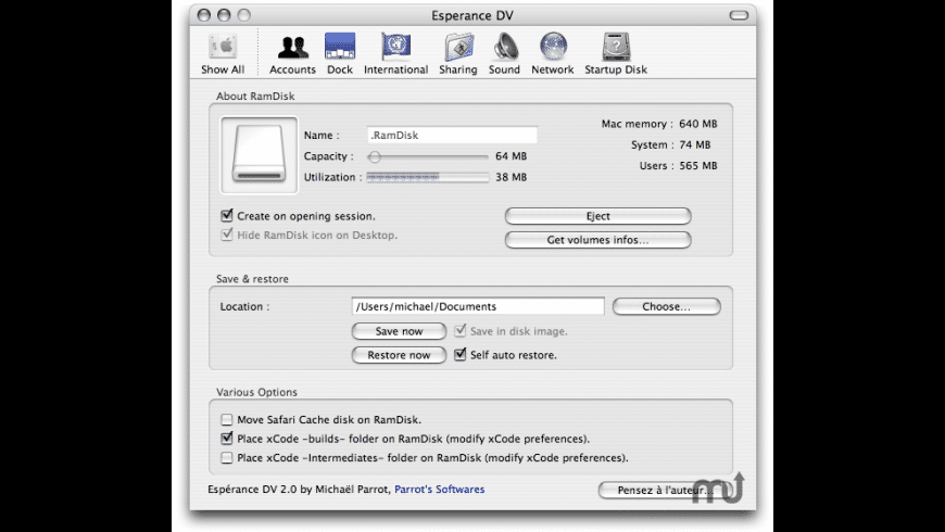 Esperance Dv For Mac Free Download Review Latest Version