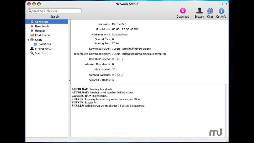 SolarSeek for Mac - review, screenshots