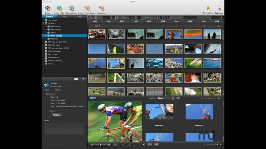 iDive for Mac - review, screenshots
