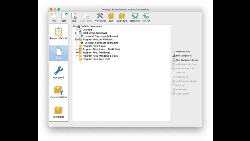 VMware InstallBuilder for Mac - review, screenshots