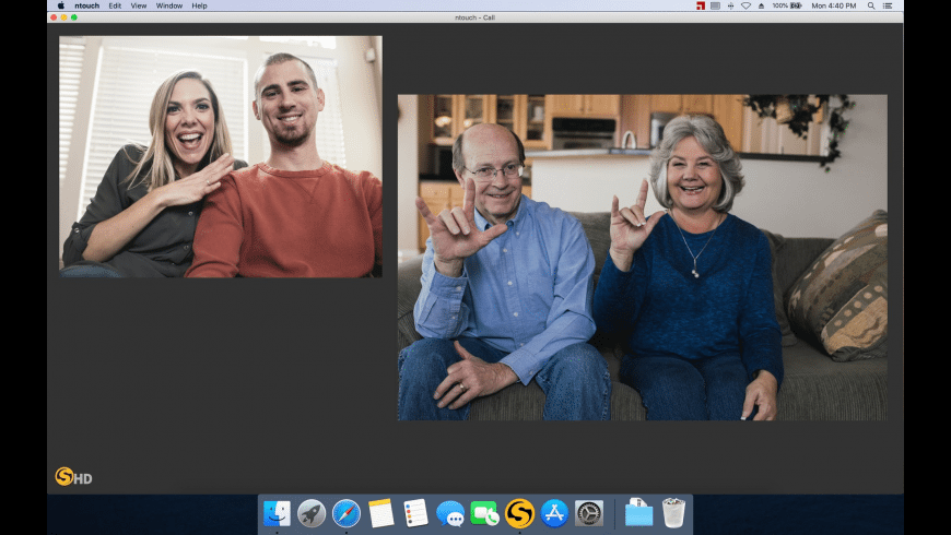 ntouch for Mac - review, screenshots