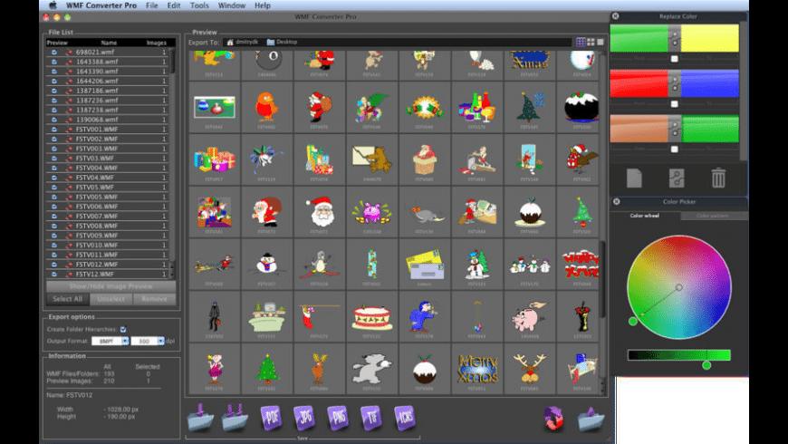 WMF Converter Pro for Mac - review, screenshots