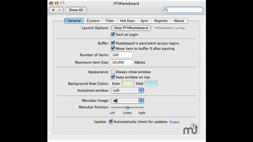 PTHPasteboard Pro for Mac - review, screenshots