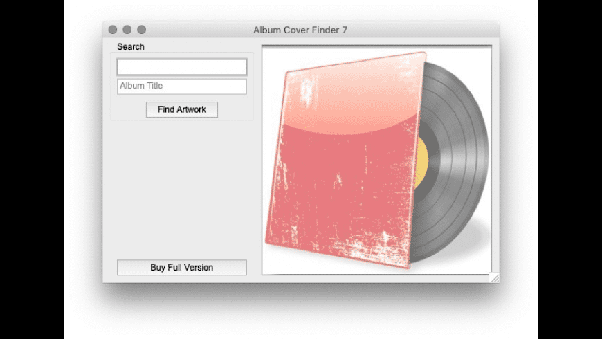 Album Cover Finder for Mac - review, screenshots