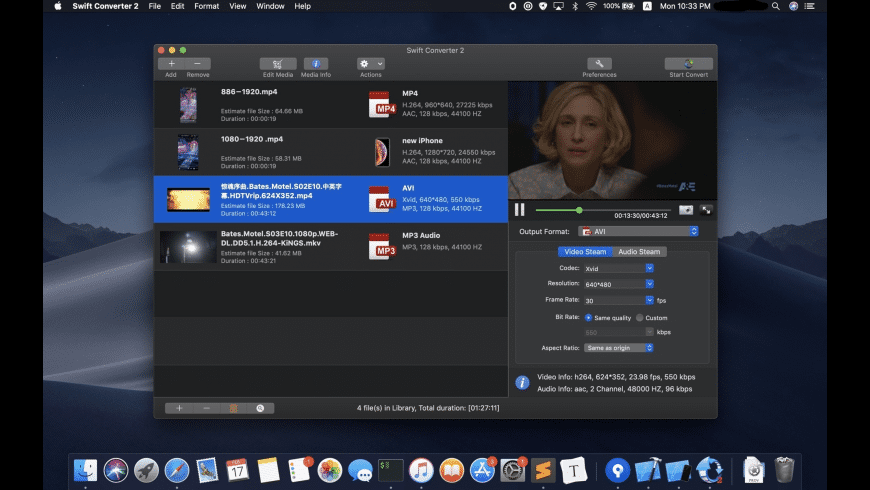 Swift Converter for Mac - review, screenshots
