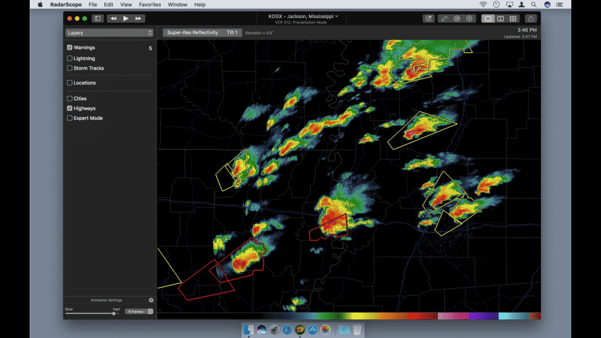 RadarScope for Mac - review, screenshots