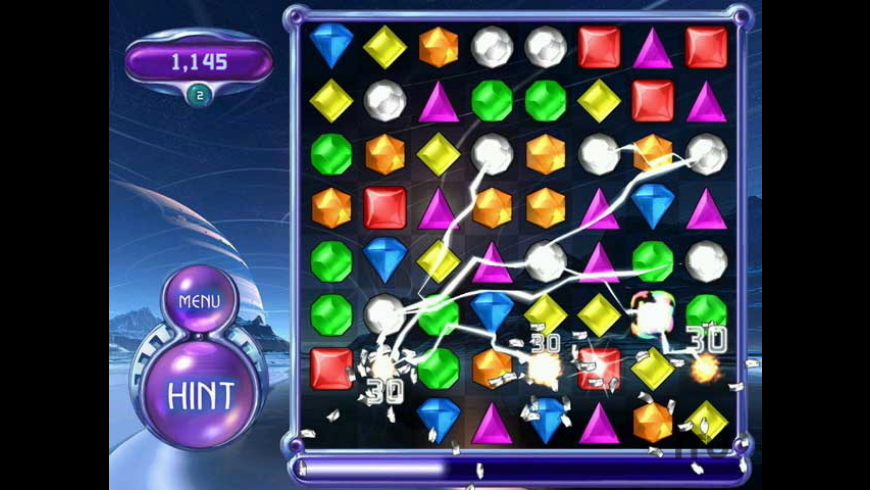 Bejeweled 2 Deluxe for Mac - review, screenshots