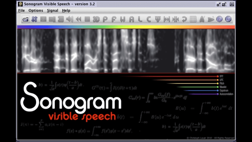 Sonogram for Mac - review, screenshots