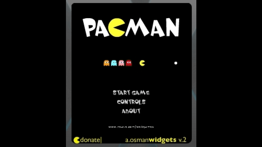 Pacman for Dashboard for Mac - review, screenshots