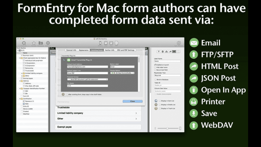 FormEntry for Mac - review, screenshots