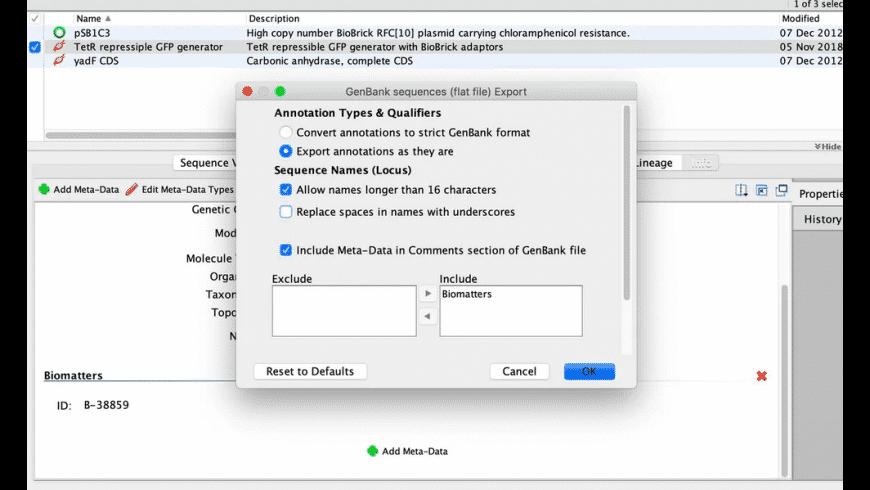 Geneious Prime for Mac - review, screenshots