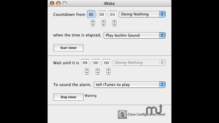 iWake for Mac - review, screenshots