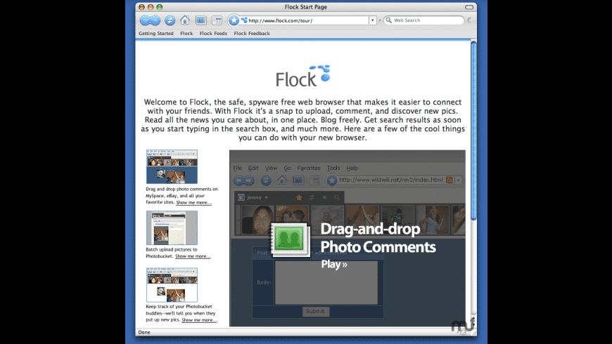 Flock for Mac - review, screenshots