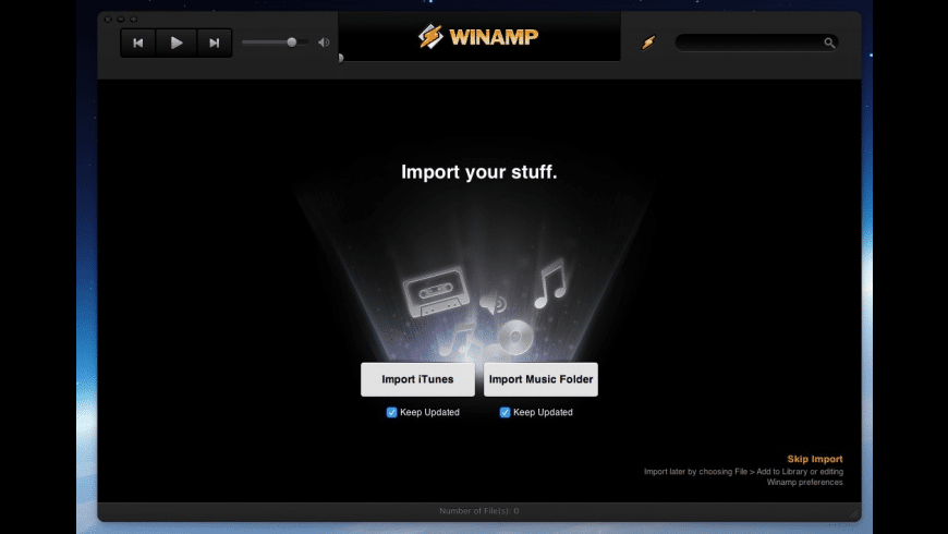 Winamp for Mac - review, screenshots