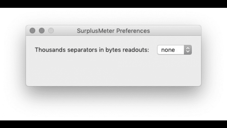 SurplusMeter for Mac - review, screenshots