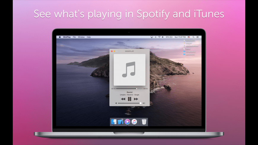 MiniPlay for Mac - review, screenshots