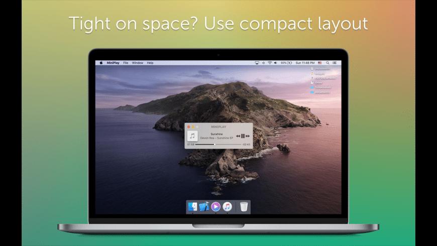 MiniPlay for Mac - review, screenshots