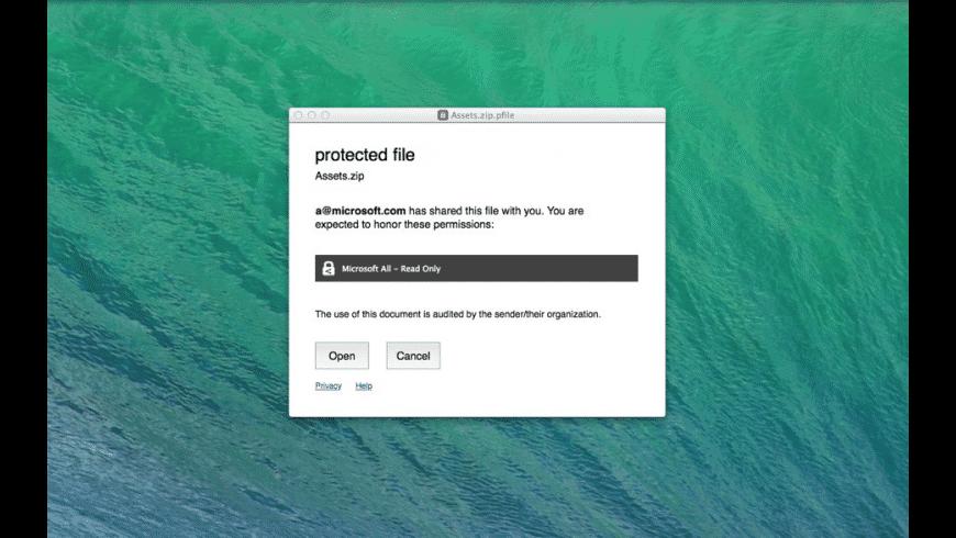 RMS Sharing for Mac - review, screenshots