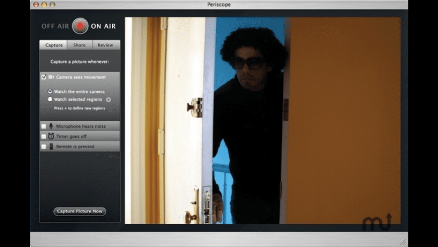 Periscope for Mac - review, screenshots