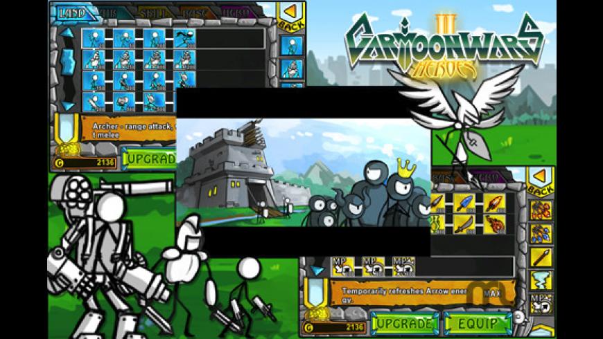 Cartoon Wars 2: Heroes for Mac - review, screenshots